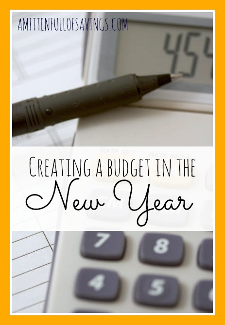 Budgeting doesn't have to be hard. Here's a few easy tips on How to Create a Budget in the New Year