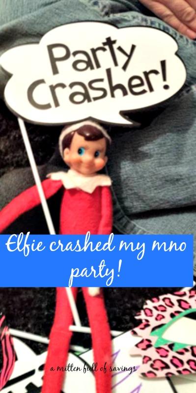 elf on the shelf crashes mno party