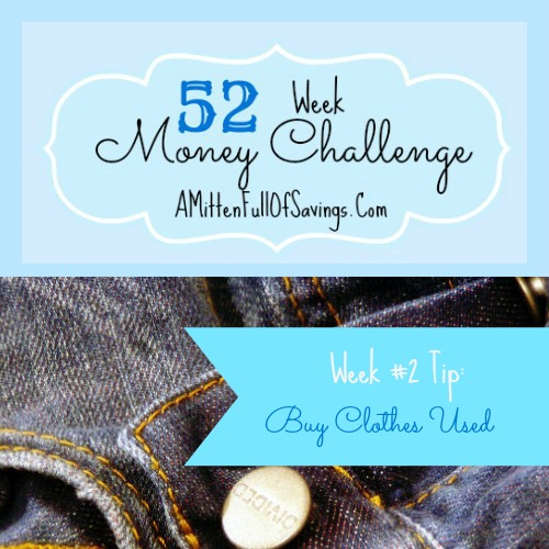 money save way, 52 week challenege, ways to save money, ways to save on clothes