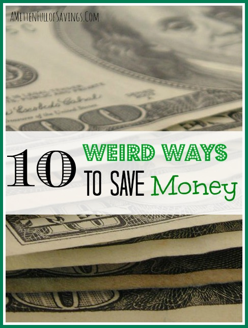 weird ways to save money, money save ways
