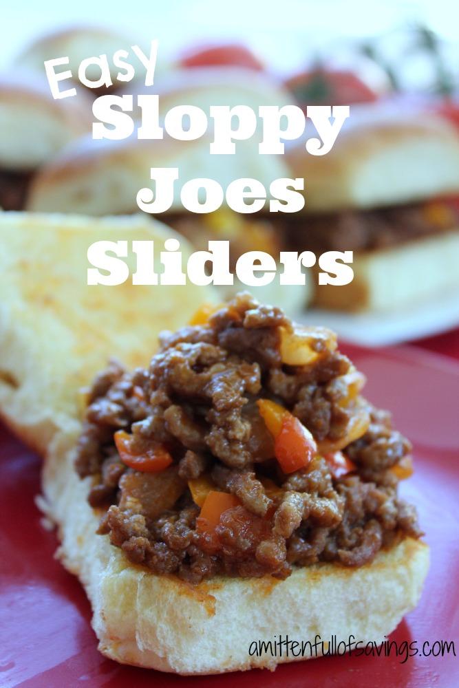 easy sloppy joe recipe, sloppy joes