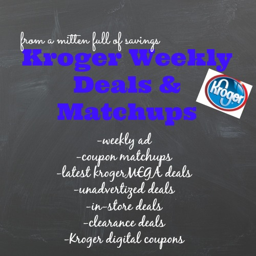 kroger deals, kroger weekly ad, kroger digital coupons, unadvertised deals at kroger