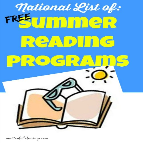 summer reading programs, things to do, free things to do