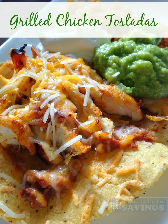 Grilled Chicken Tostadas Easy Recipe