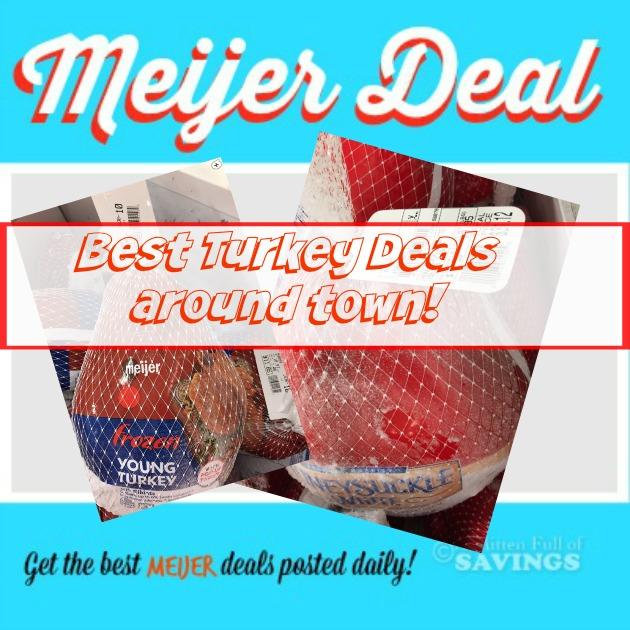 Meijer 50 Off Thanksgiving Turkey Deals