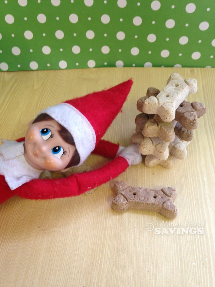 Elf on The Shelf Idea- Jenga Elf