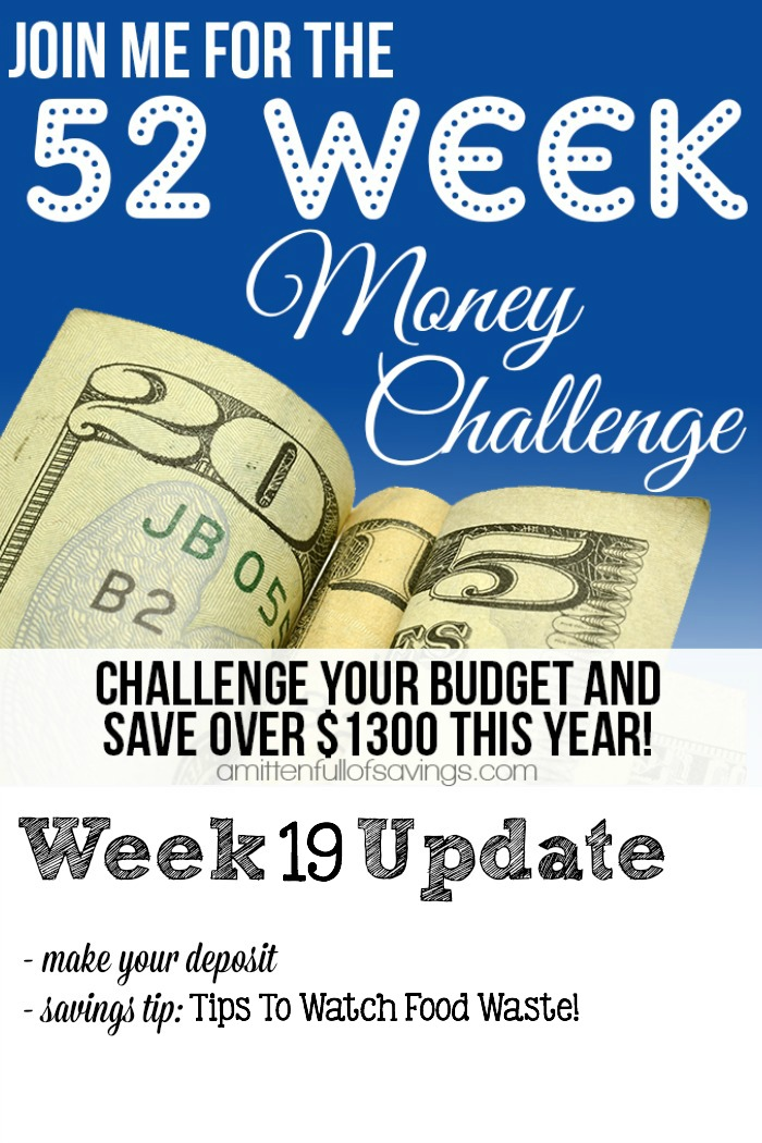 52 Week Challenge: Tips To Save Money By Watching Your Food Waste