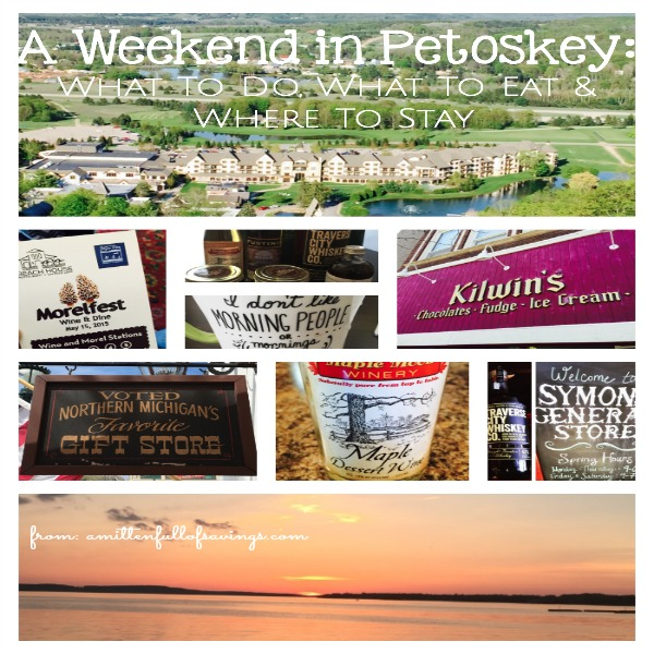 Head to the beautiful city of Petoskey! Check out things you can, where to stay and places to visit - A Weekend in Petoskey What to do where to stay