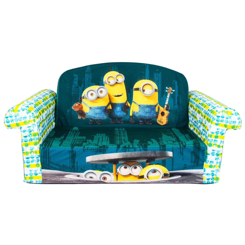 Sensational Amazon Deal Marshmallow Furniture Flip Open Sofa Minions Machost Co Dining Chair Design Ideas Machostcouk