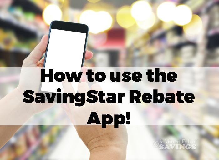 How does Savingstar Rebates work