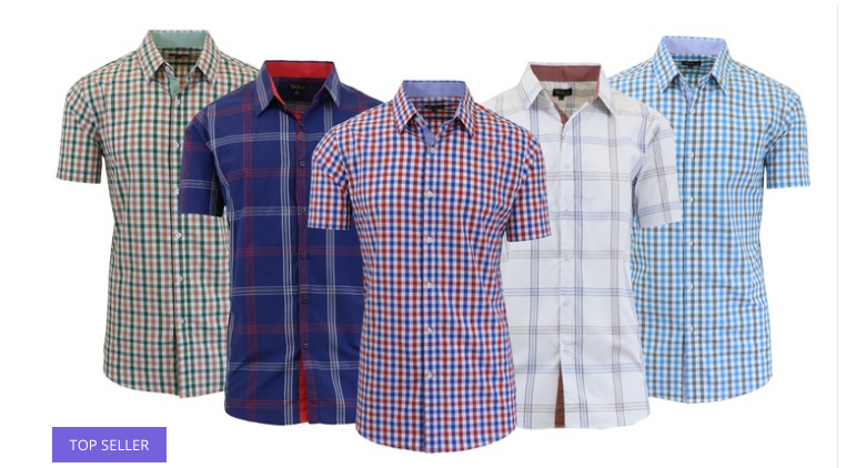 Men's Plaid Shirt Deal