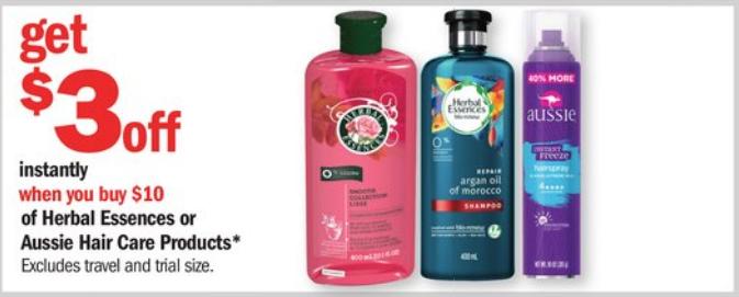 Meijer: Herbal Essence + Aussie Hair Deals This Week