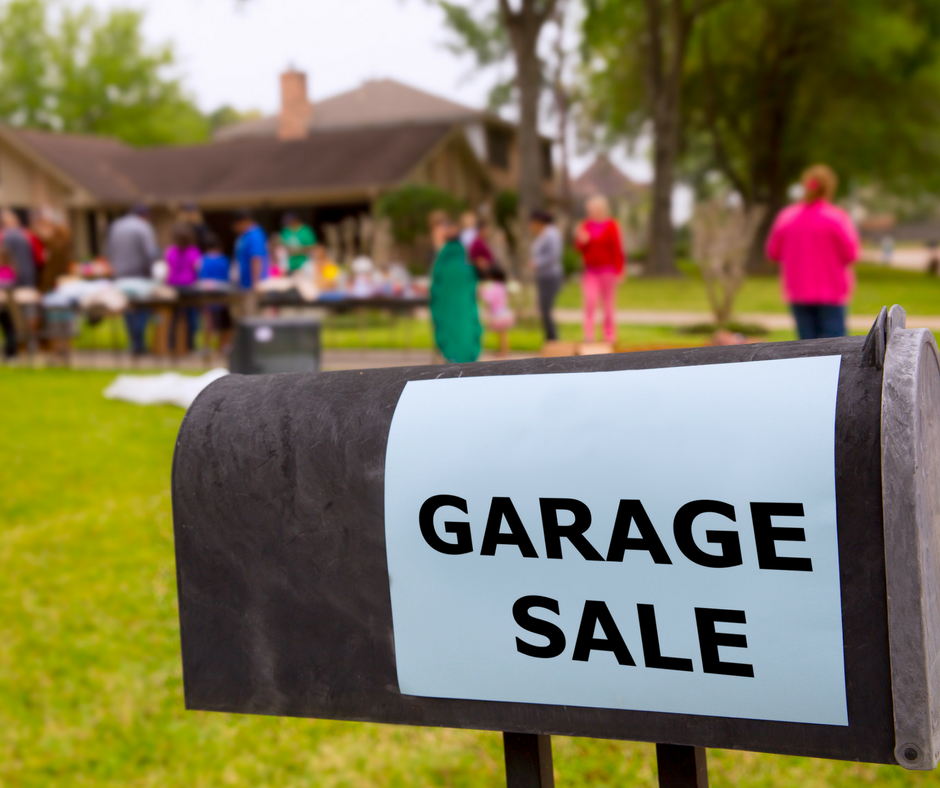 best garage sale tips