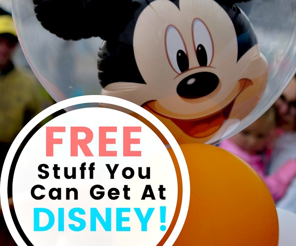 Free stuff at Disney World