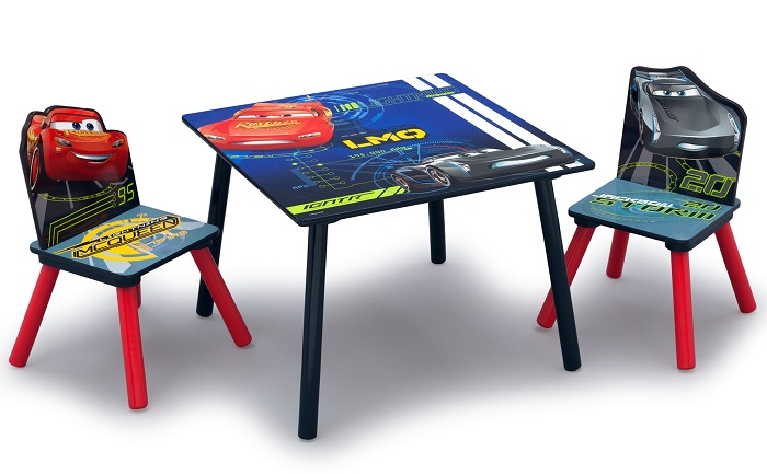 Wondrous Walmart Online Deal Disney Pixar Cars Kids Wood Table And Alphanode Cool Chair Designs And Ideas Alphanodeonline