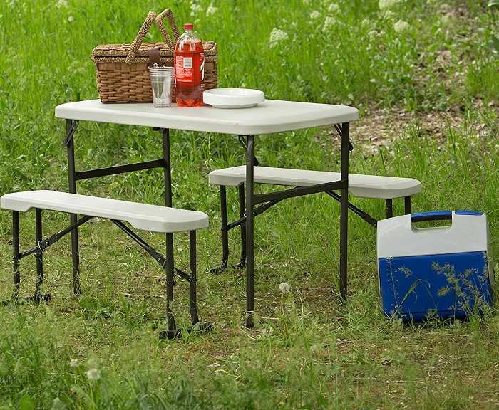 Magnificent Amazon Deal Lifetime Portable Folding Picnic Table And Camellatalisay Diy Chair Ideas Camellatalisaycom