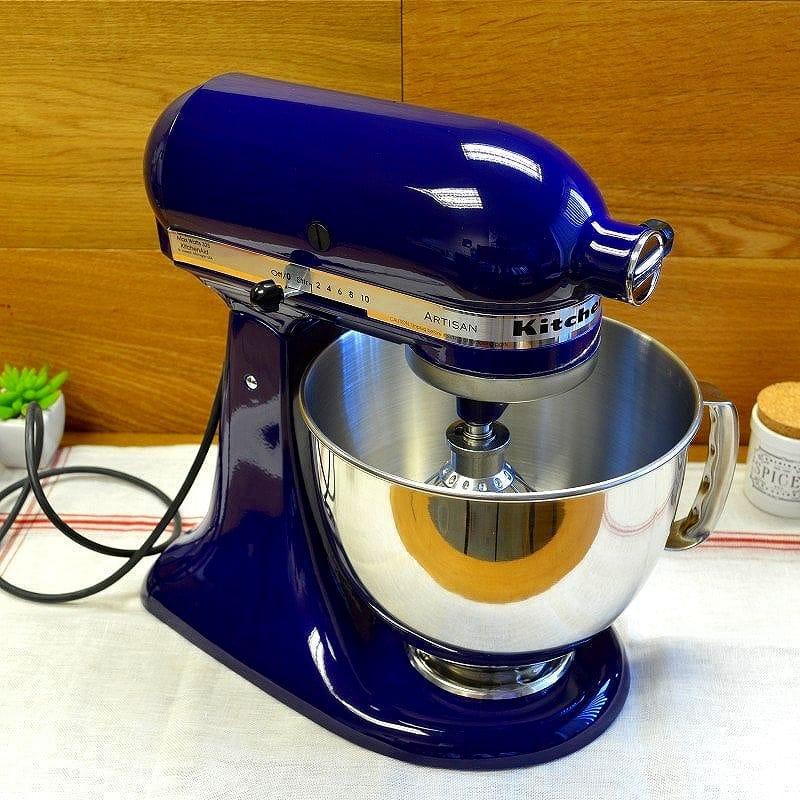 Newegg Online Deal Kitchenaid Cobalt Blue 4 5 Quart Tilt Head Stand Mixer 170 Shipped