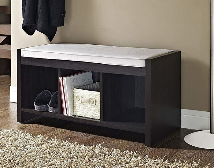 Amazon Deal: Ameriwood Home Entryway Storage Bench With ...