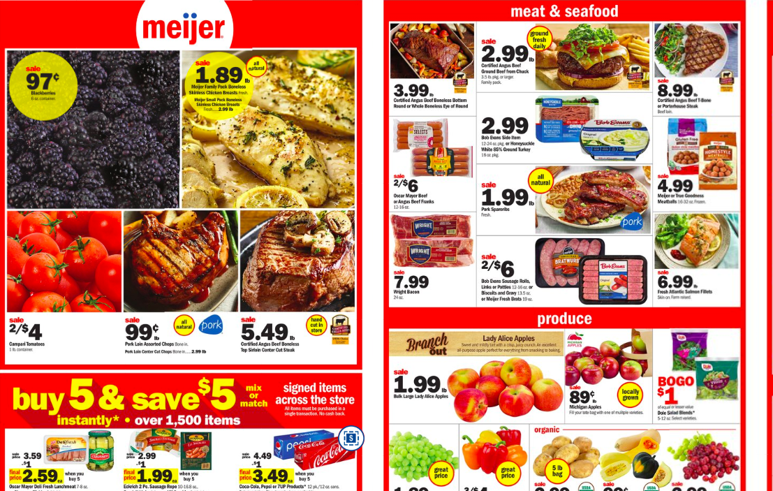 Meijer Preview For This Week