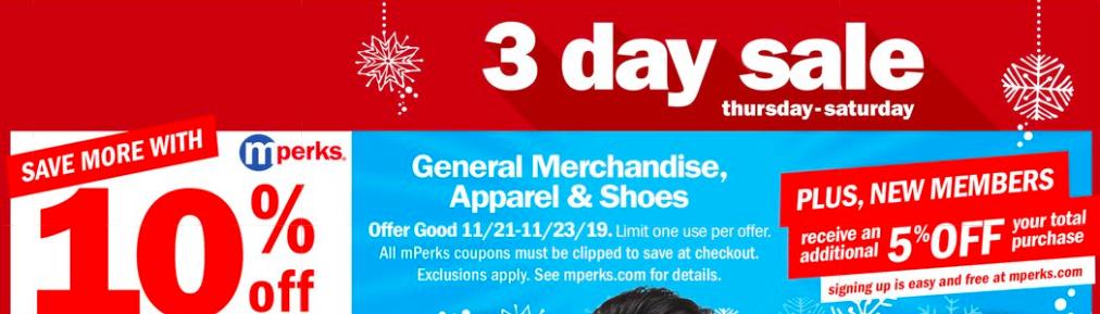 Meijer: 10% General Merchandise mPerk & How To Use It