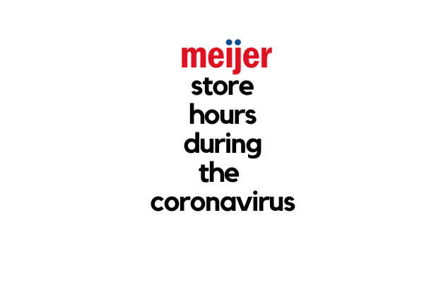 new meijer store hours