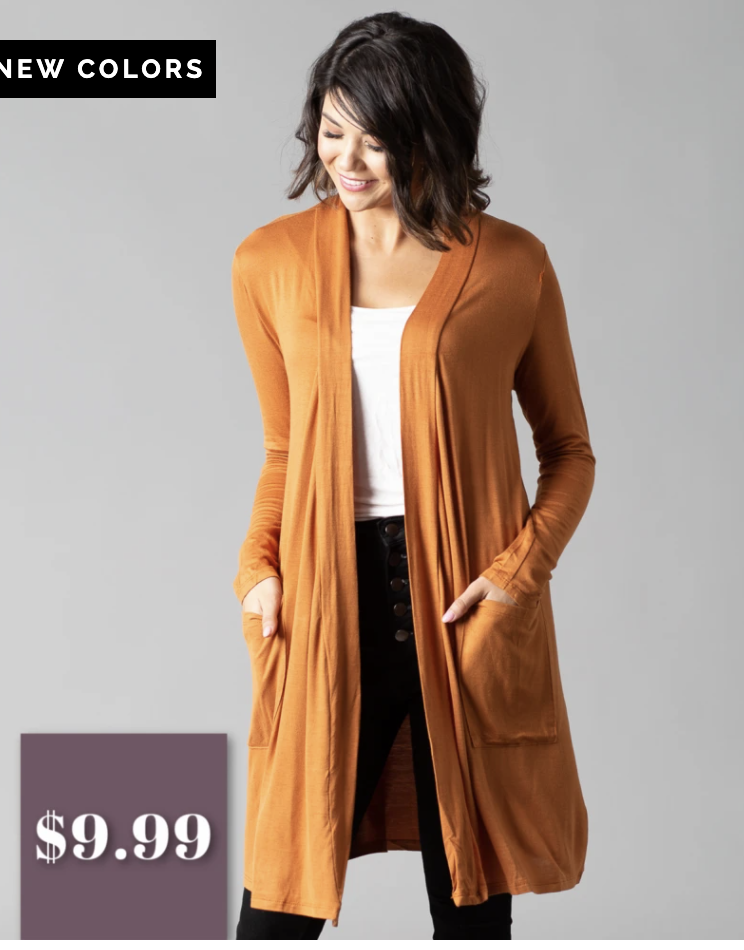 Deal on cardigan sweaters